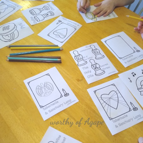 Mass set coloring sheets in use 2