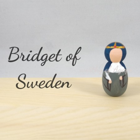 Bridget of Sweden keychain ornament main