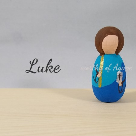 Luke keychain ornament