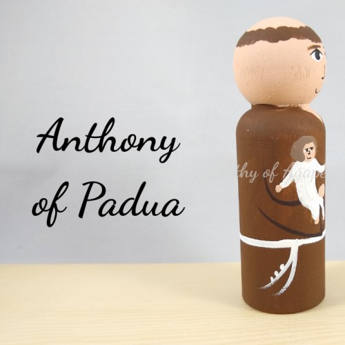 Anthony of Padua Jesus side