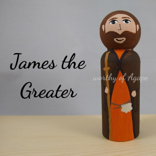 James the Greater new main