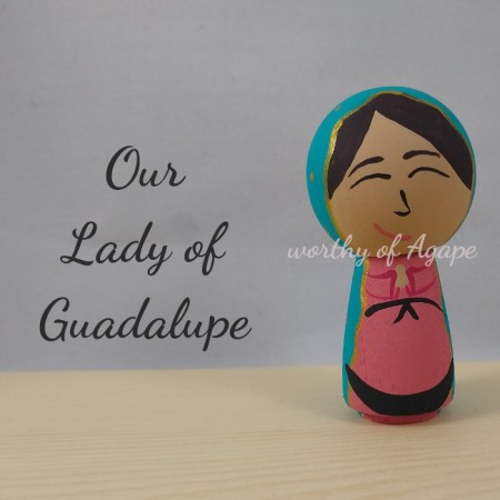 Our Lady of Guadalupe kokeshi main