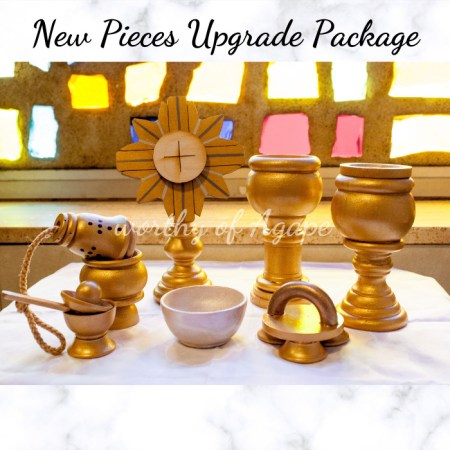 new pieces upgrade pkg1