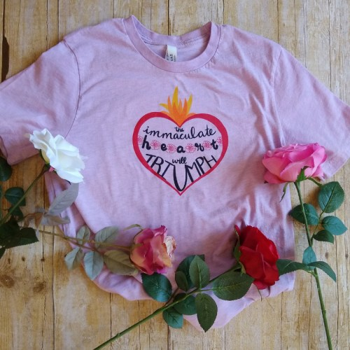 Immaculate Heart will Triumph with roses