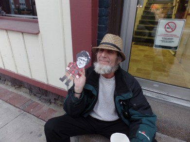 Our homeless friend Mike