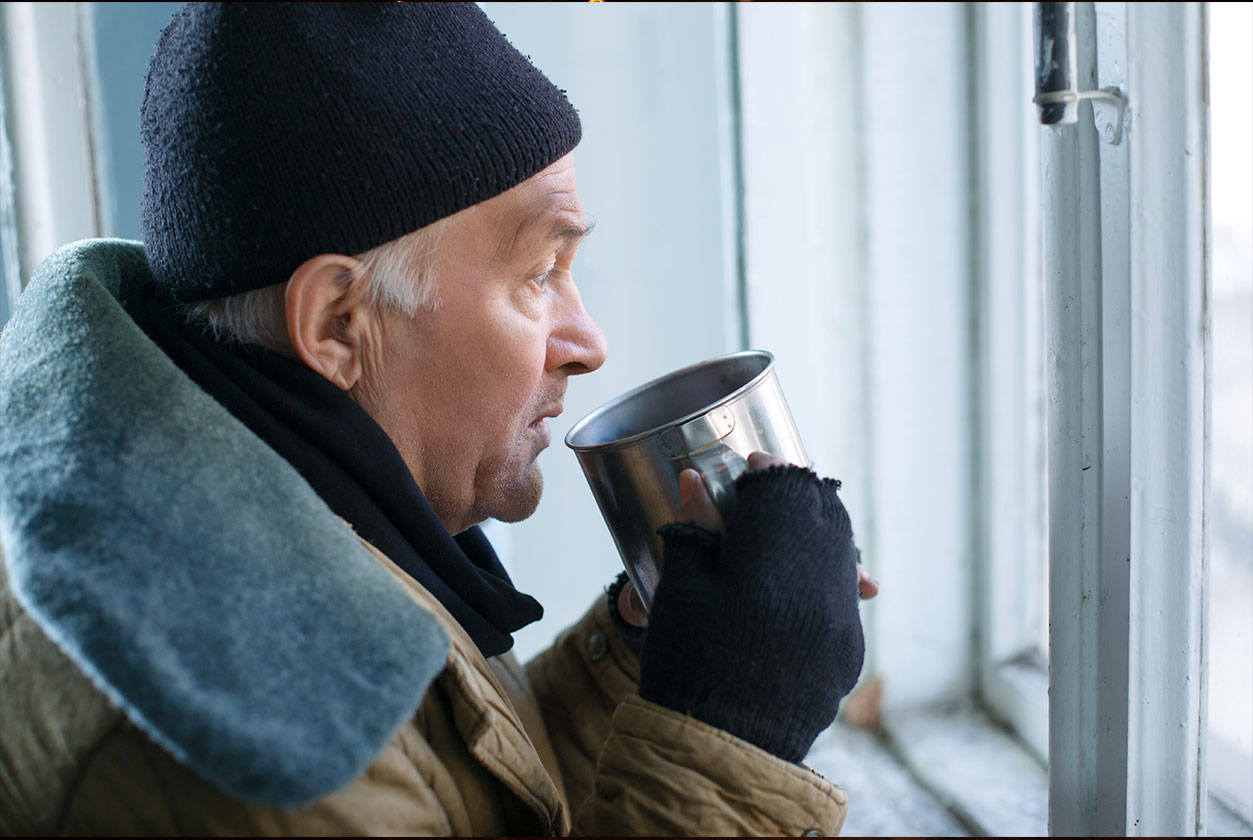 Heimatlos im eigenen Land (Foto: Dmytro Zinkevych/ Shutterstock)