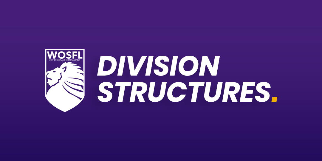 Division Structures for 2020/21