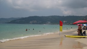 Patong Beach: where we stayed in Phuket and where the water was warm and clear.