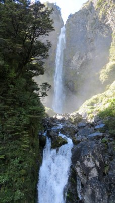 Devils Punchbowl Waterfall, Arthur's Pass.
