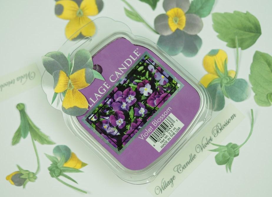 Village Candle Violet Blossom