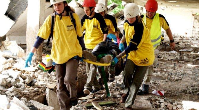 Ćwiczenia ratownicze WOŚP