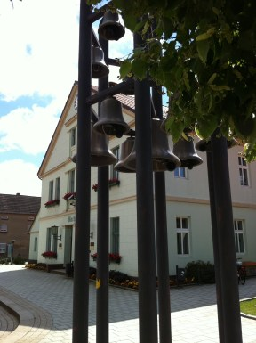 Klokkespil ved rådhus i Arendsee