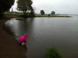 Arendse ved en overfyldt Elben