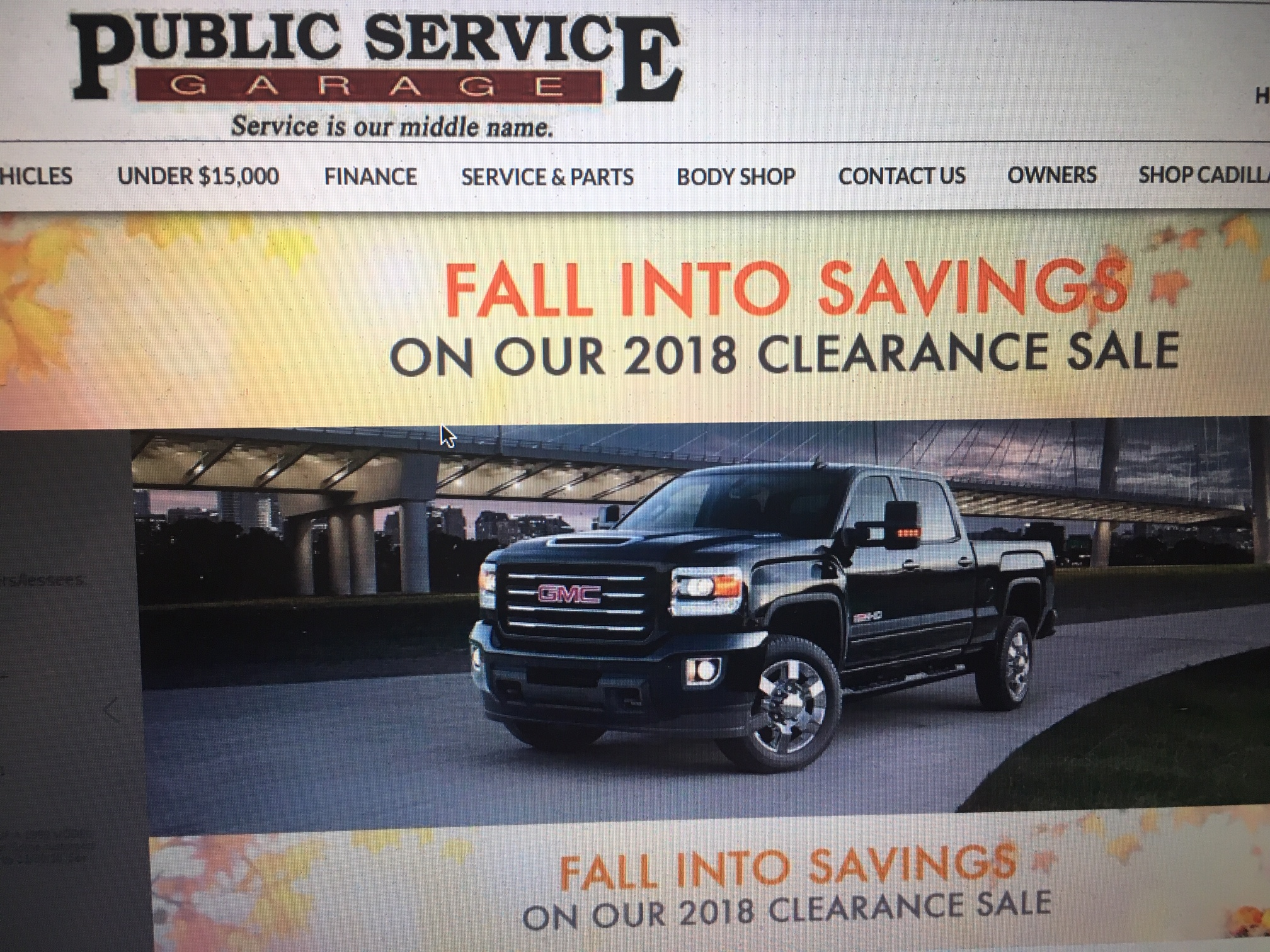 Public Service Garage Sold  Word on the Street