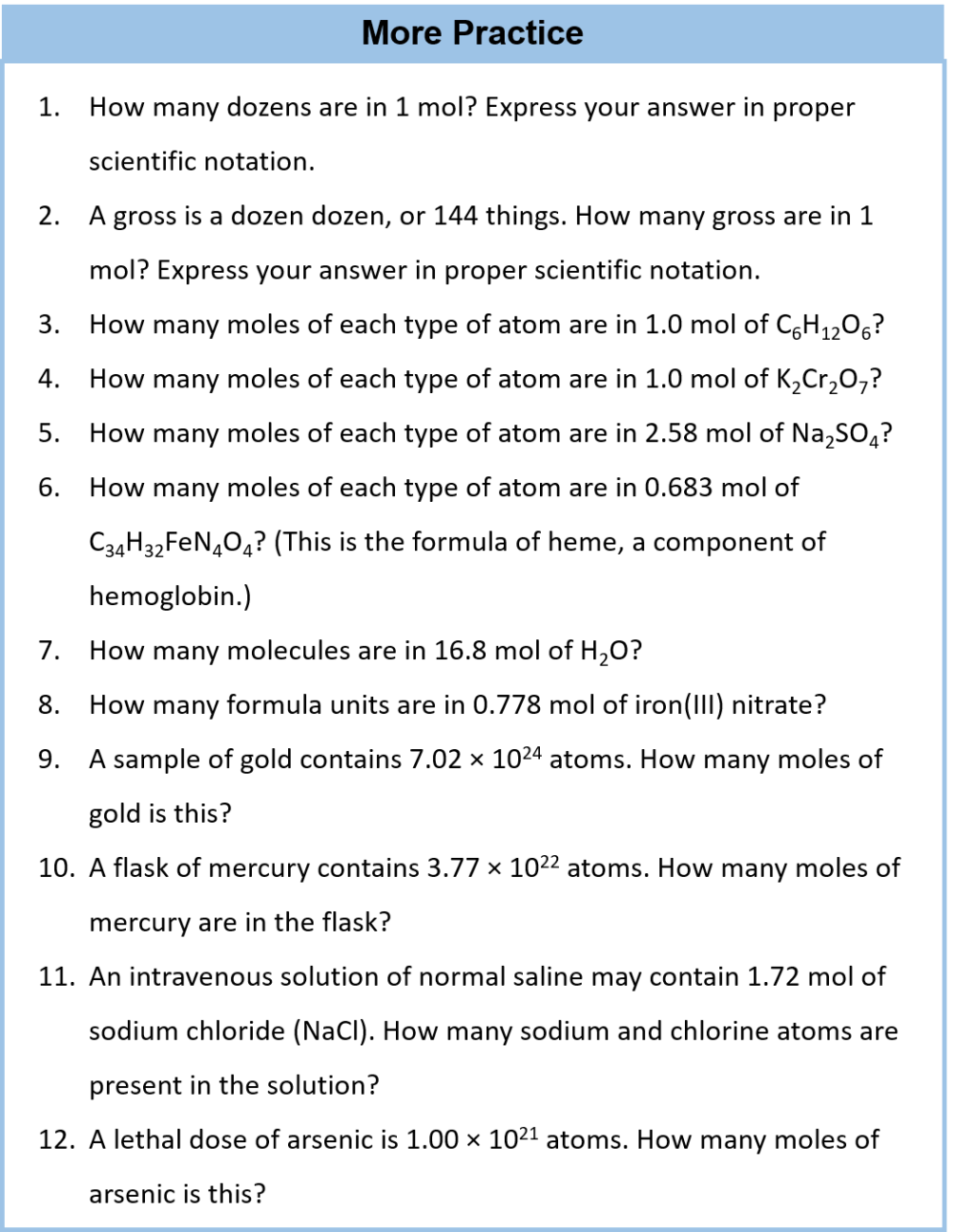 medium resolution of CH104: Chapter 6 – Quantities in Chemical Reactions – Chemistry