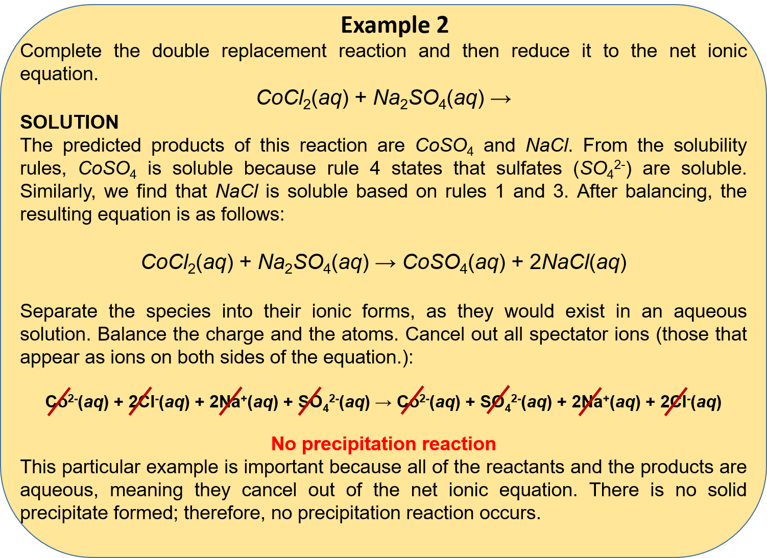Write A Balanced Chemical Equation For The Standard