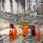 Angkor Tom Child Monks