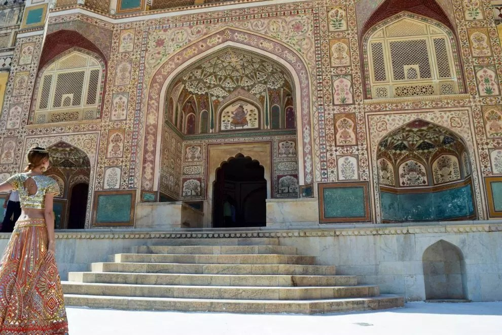 Murad Osmann at India's Golden Triangle - Amber Fort