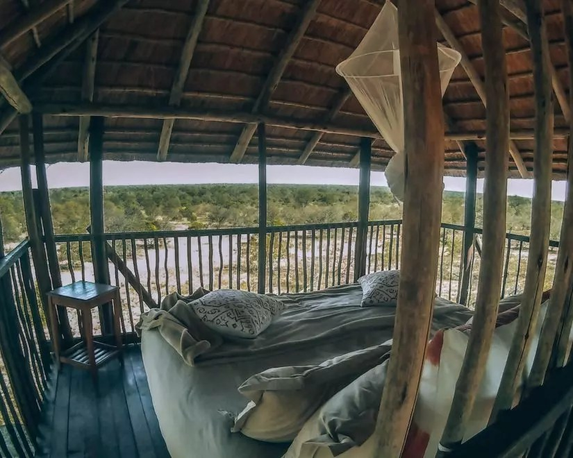 Africa on Foot: Treehouse