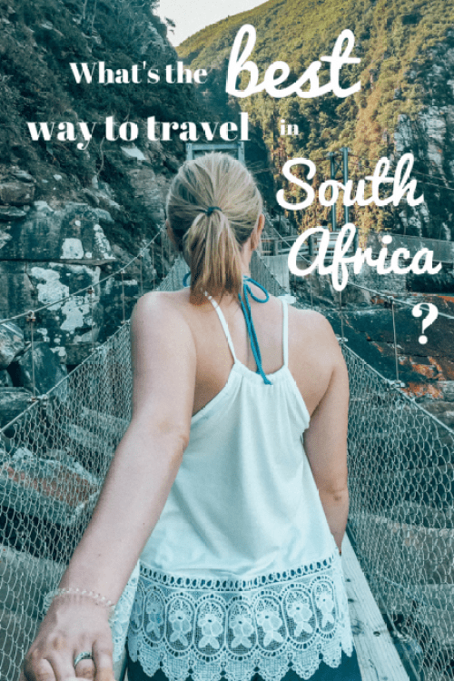 What's the best way to travel in South Africa?