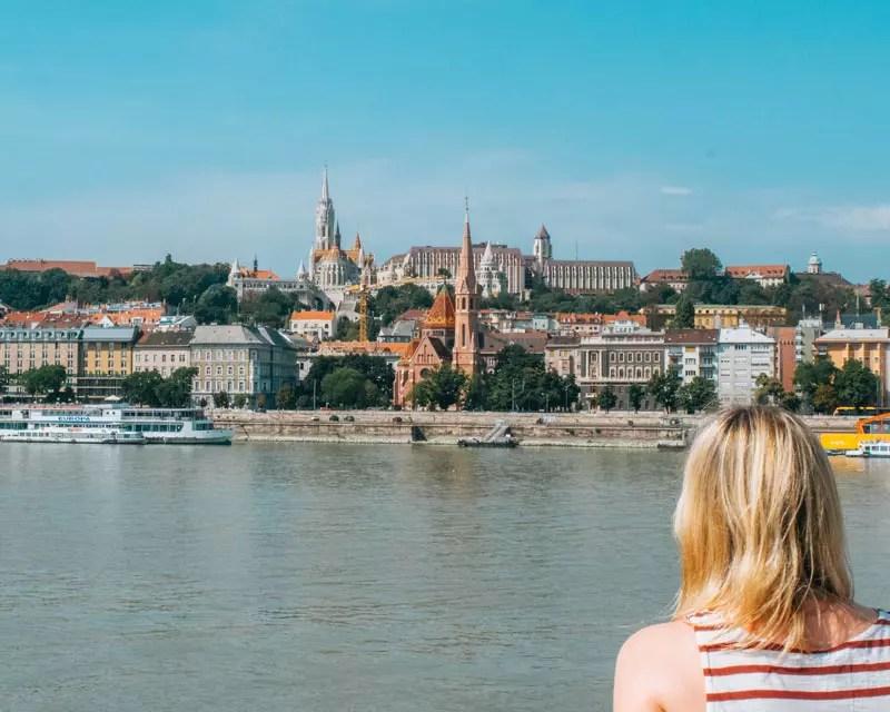 Would Be Traveller - Budapest Danube