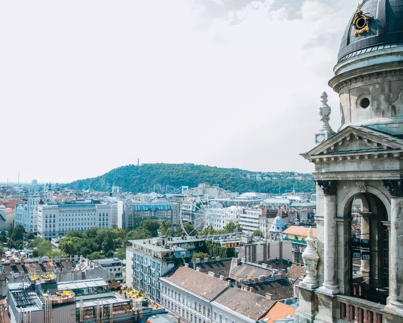Would Be Traveller - Budapest St Stephens Basilica View
