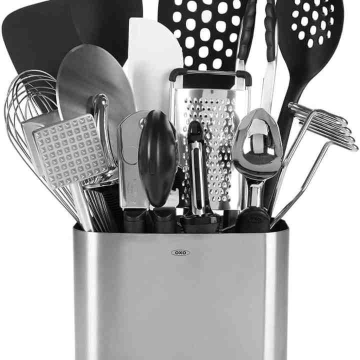Image of an assortment of Oxo Kitchen Utensils