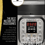 The Best Instant Pot Accessories picture of Instant Pot in the background