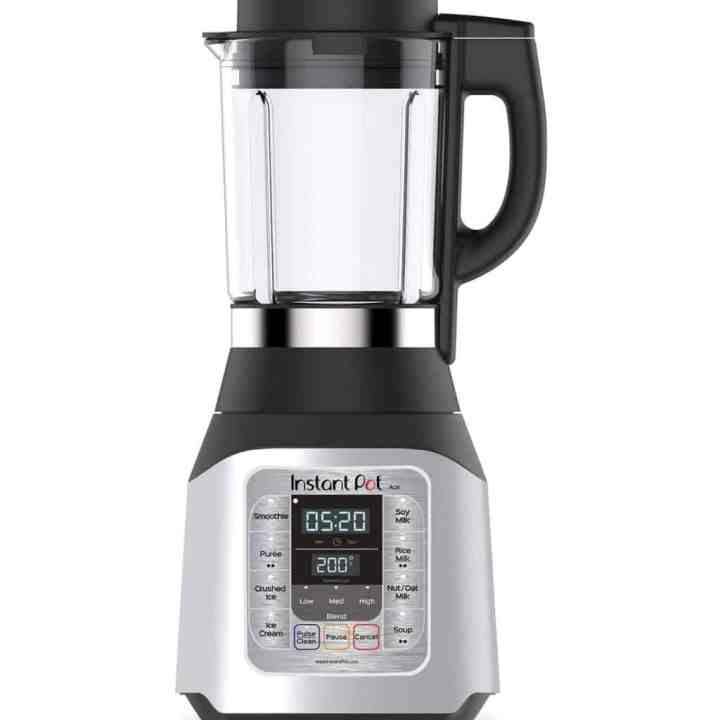 Image of an Instant Pot Blender against a white background.