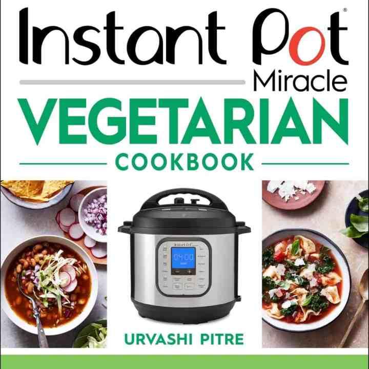 Instant Pot vegetarian cook book cover