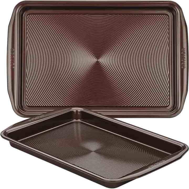 circulon nonstick cookie baking pans