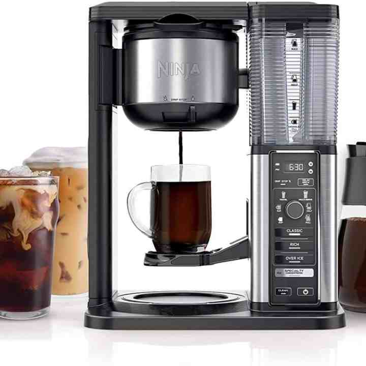 Image of a Ninja Specialty Iced Coffee Maker against a white background