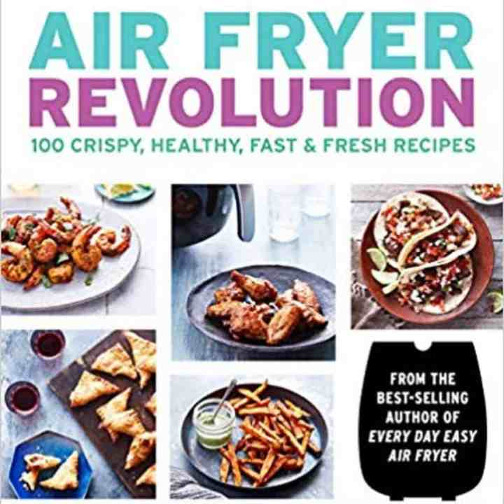 Cover of the air fryer revolution air fryer cookbook