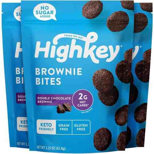 highkey snacks keto brownie bites