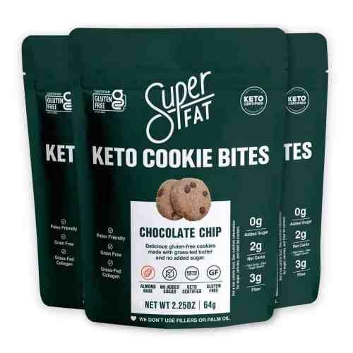 superfat keto cookie bites