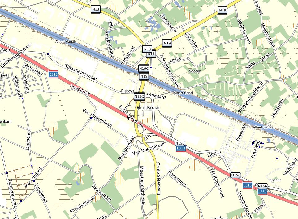 OpenStreetMap kaart van 6 februari 2014