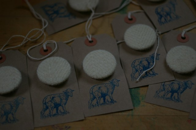 100% WOOL badges - WOVIFY YOURSELF THIS WOVEMBER!