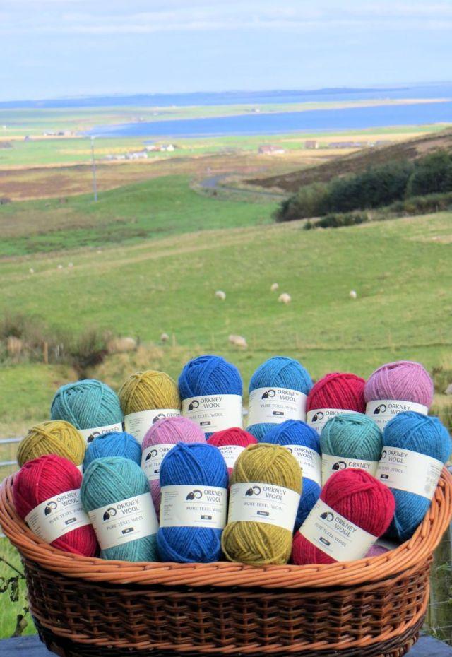 Orkney texel wool