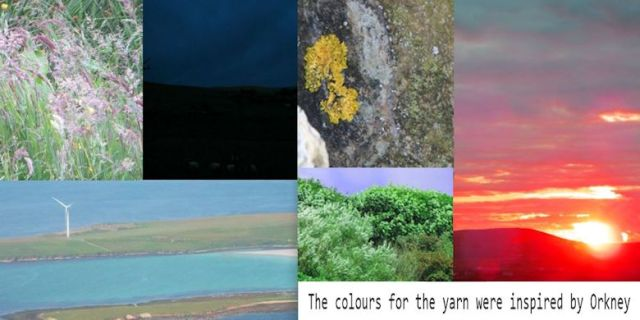 Colours from the Orkney landscape
