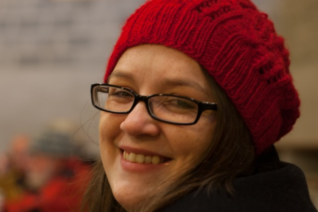 Louise Scollay, TEAM WOVEMBER member and the super genius behind KNIT BRITISH