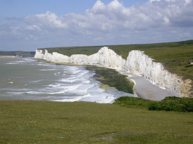 The Seven Sisters cliffs, Sussex