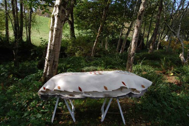 Bellacouche felted wool burial shroud