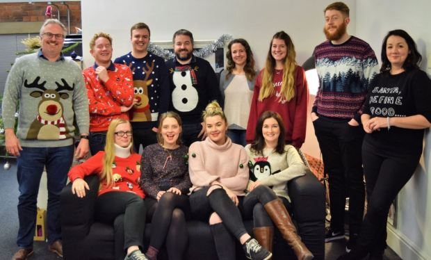 Woven Christmas jumpers