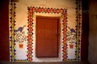 Wall Art of Rural Rajasthan | The Art Blog by WOVENSOULS.COM