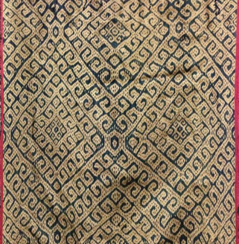 Antique Indonesia Ikat-2