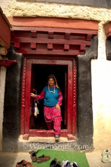 Lamayuru Gompa Monastery, Ladakh, India