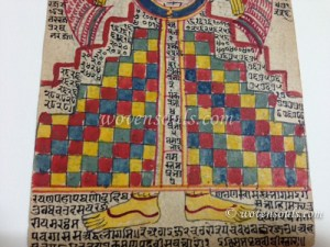 Rare folio of Lokpurush, Antique Jain Painting