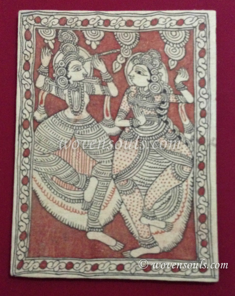 Wovensouls - Technique of Kalamkari art - Dye