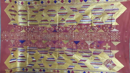 ANTIQUE BAGH PHULKARI TEXTILE FROM PUNJAB