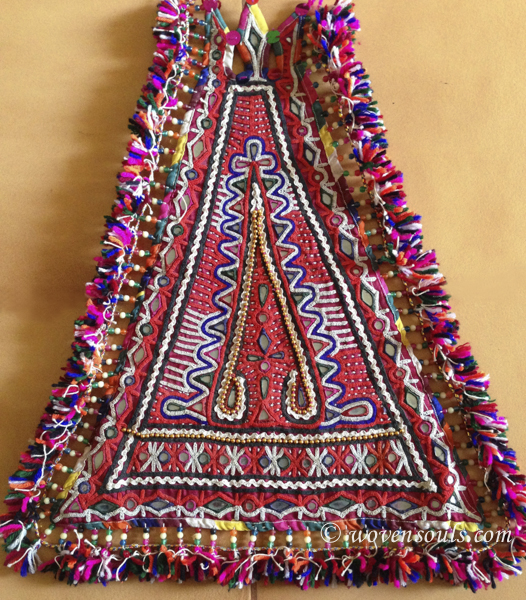 RARE OLD KACHI RABARI TRIBAL WEDDING TEXTILES